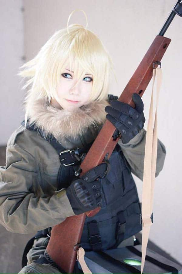 Cosplayer Tanya Anime Youjo Senki