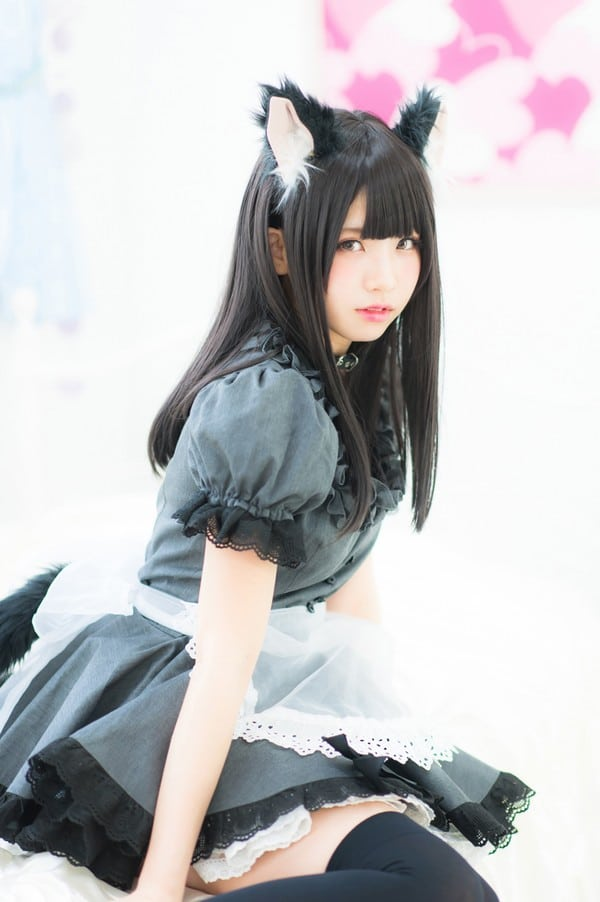 Enako Cosplayer Kucing Hitam Yang Sexy Otakurei Digital Pop